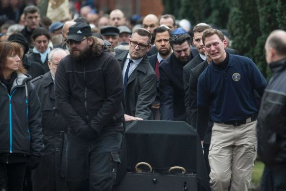 Dan Uzan's funeral