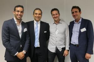 Zac Midalia, Daniel Grynberg, Lance Kalish and Daniel Cohen