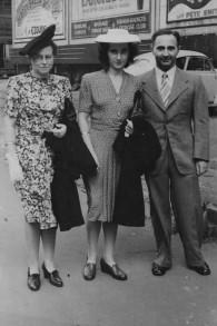 Grete Menkes and Elsa and Otto Philippsohn