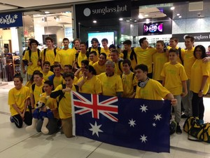 Maccabi NSW basketballers and swimmers are on a plane to Dallas, Texas for the JCC Maccabi Games 2015.