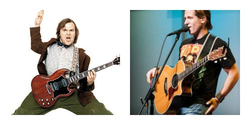One of these Jewish rock stars will be at the JCA/Shalom Baby/PJ Library Kids Music Festival this Sunday.